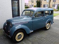 Renault Dauphinoise omgebouwd