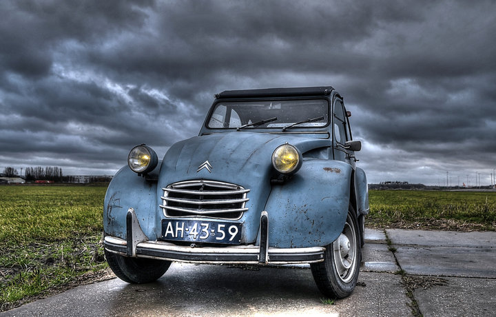 Citroën 2CV compleet omgebouwd