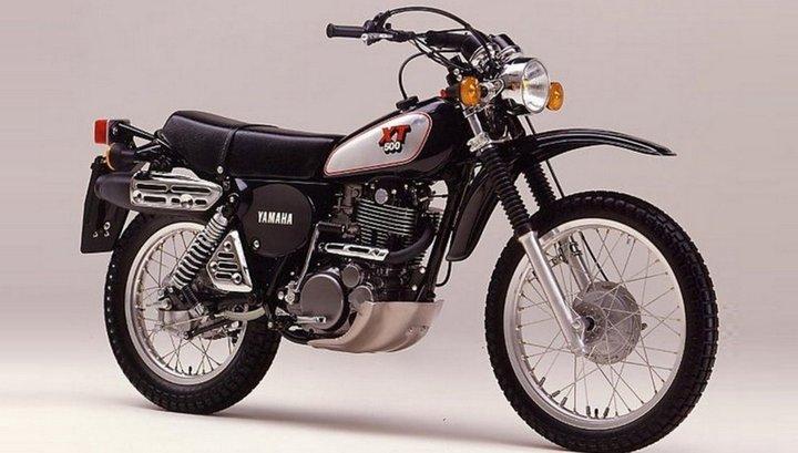 Yamaha XT500 6 volt: Compleet omgebouwd naar led verlichting, knipperlichten, rem/achterlicht, tellerverlichting en koplamp.