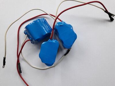 Accupack 6 volt voor Kreidler o.a.  RMC-S 150 Amh.