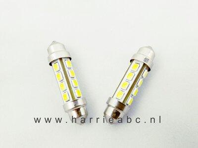 Buis lampje 6 volt 10 watt 42 mm 120 Lum. (BUIS.42.10.OW.01)