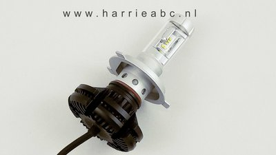 H4 led koplamp 50 watt 12 volt . (12.H4.50.83)