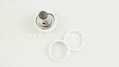 Adaptor ring van H4 (P43T) naar Duplo (P45T) 2 diameters 38 en 43.5 mm perfecte pasvorm. (Adapter.02.03)