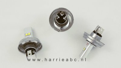 P45T (H5 of R5) Led Voorlamp P45T (Duplo) met groot en dimlicht led DC 6 en 12 volt systemen in Wit 40 watt 800-1600 lum. (P45T.40.OW.10)