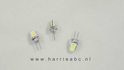 G4 LED lampje 6 volt voor duiklamp, zaklamp, spotjes. (G4.06.46)