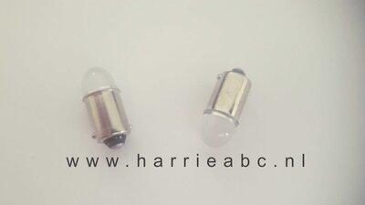 BA9S 12 volt 4 watt kleur wit. ( 12.BA9S.OW.99 )