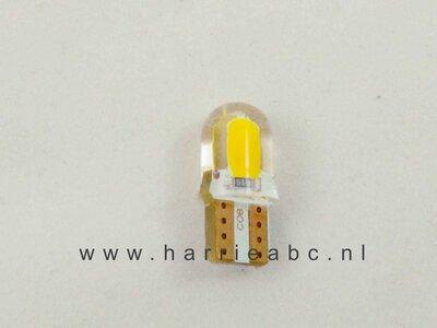 T10 12 volt 3 watt in de kleur amber ( 12.T10.03.OA.55 )