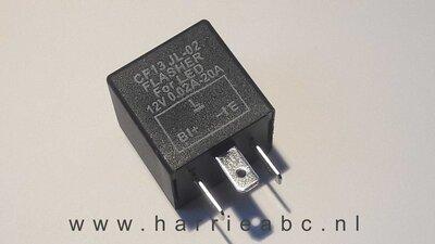 Knipperlicht relais 12 volt 3 aansluitingen (12.RELAIS.04.OO.03 )