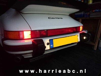 Porsche 911 G model 1974 t/m 1989 12 volt LED ombouw set ( PORSCHE911.OG.HAM   )
